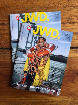 Aboat tour through the port of Hamburg. JWD Magazine Nr.16